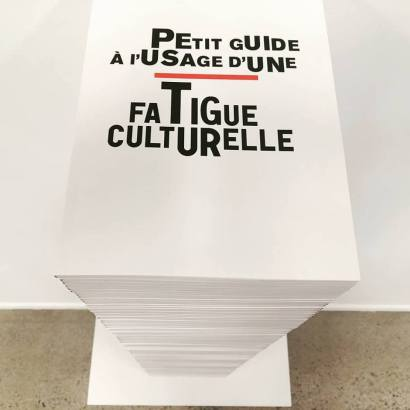 Petit guide à l'usage d'une Fatigue culturelle